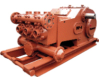 Weatherford Triplex Mud Pump