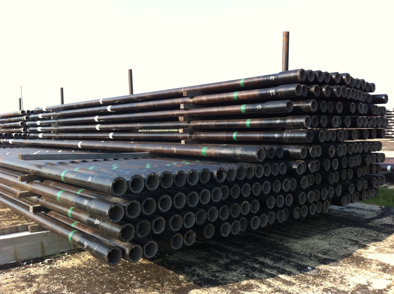Drill pipe ″ s c w nc  if conn