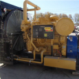 2014 Caterpillar 3508C Diesel Engine with Oil Works C-300-80 torque convertor -671kw @ 1200 RPM -New surplus zero hours