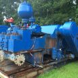 2x Oilwell A-1700-PT Single Acting 1700HP Triplex Mud Pumps with 2x GE752 Motors