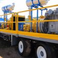 CARRIER, DRAWWORKS, MAST/SUBSTRUCTURE: Cabot 1000HP Mechanical w/ V80 Brake, Telescoping Substructure (2-piece Rotary & Setback skids) & Mast Hookload 550,000 lbs MUD PUMPS: 2x Gardner Denver PZ9, Mud Pump Rating […]