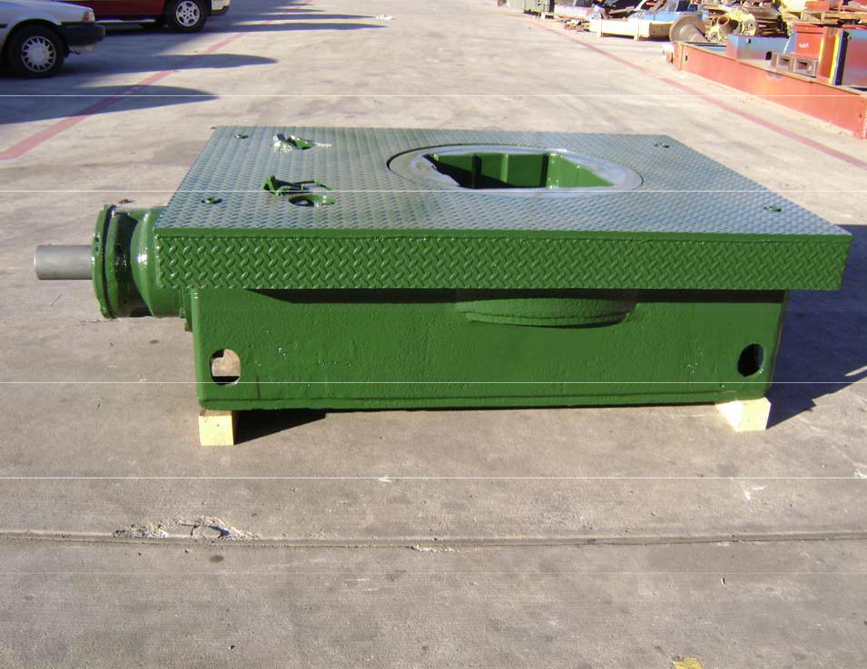 Continental emsco rotary table 17 12 oem model t 1750 x 53 for 12 rotary table